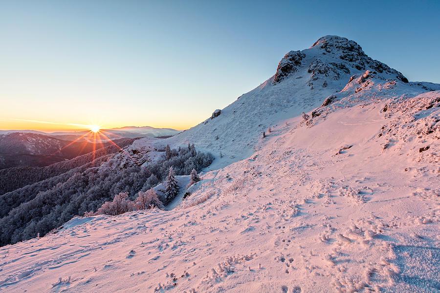 Balkan Mountains Photograph - Harsh Sunshine by Evgeni Dinev