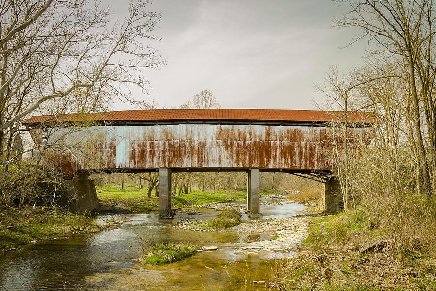 Harshaville Covered Bridge Photograph