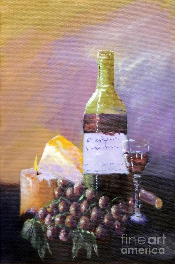Still Life Painting - Harvest by Annette Tan