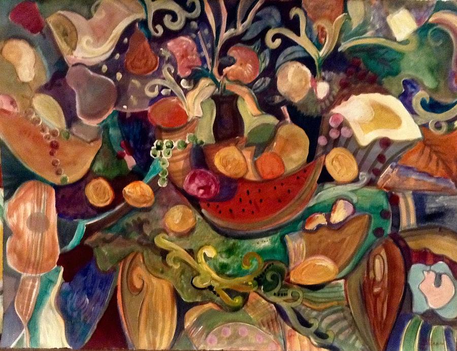 Autumn Painting - Harvest by Joyce Lieberman