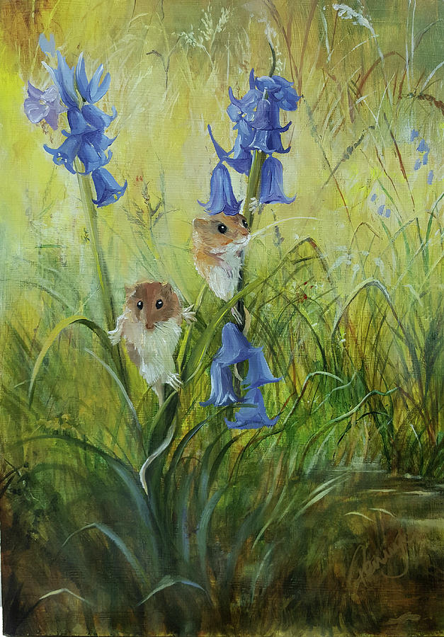 Harvest Mice by Penny Golledge