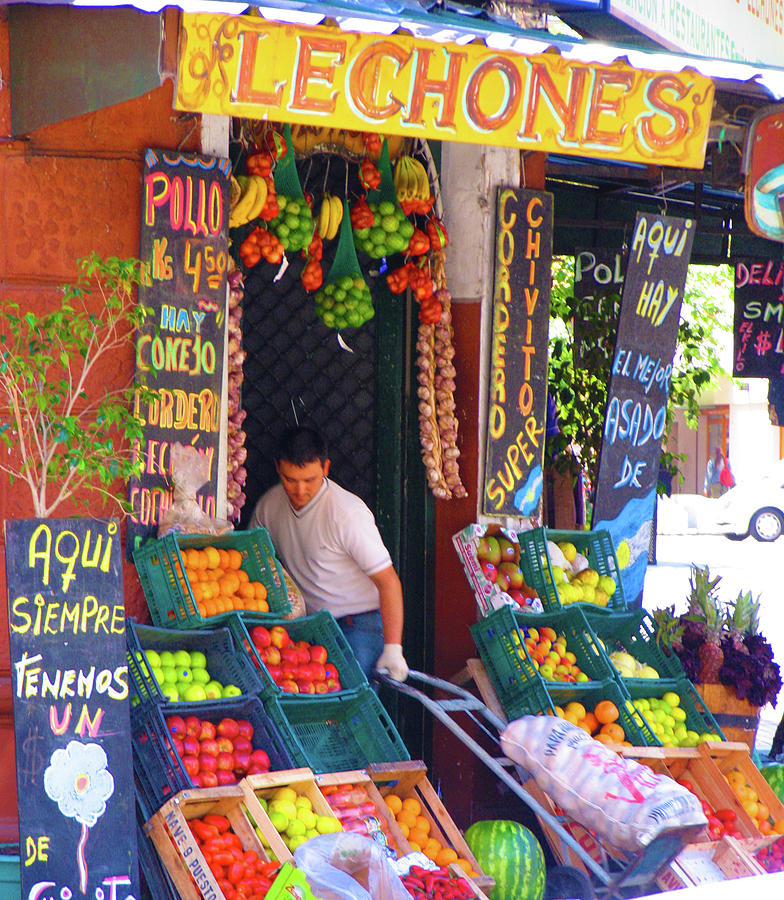 Fruit Stand Photograph - Harvest To Market by Ave Guevara