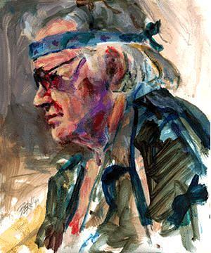 Acrylic Painting - Harvey by Chuck Berk