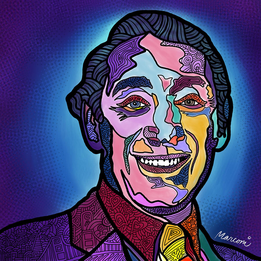 Harvey Milk Digital Art - Harvey Milk I Recruit You by Marconi Calindas
