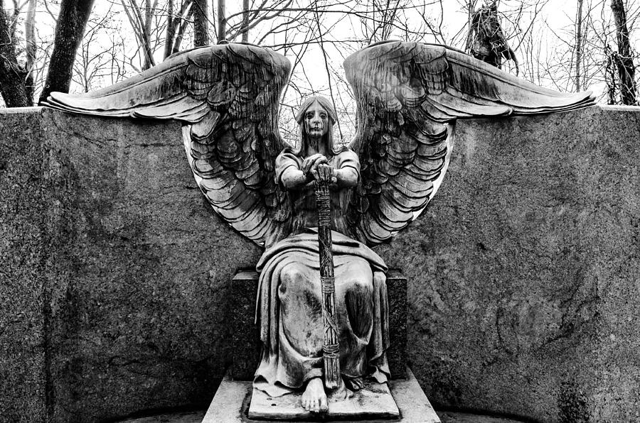 Angel Of Death Photograph By J Austin