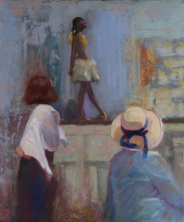 Genre Painting - Hat and Degas by Irena  Jablonski