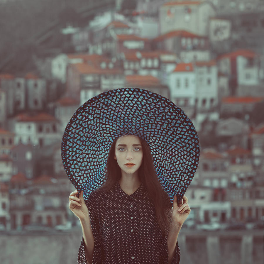 Fairytale Photograph - Hat And Houses by Anka Zhuravleva