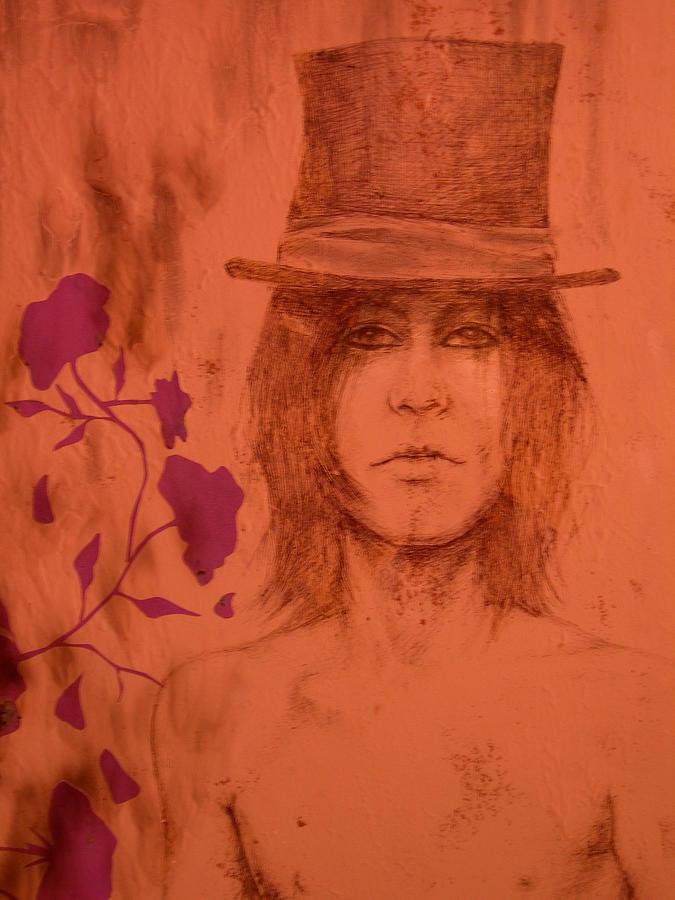Hat Drawing - Hat Boy by J Oriel