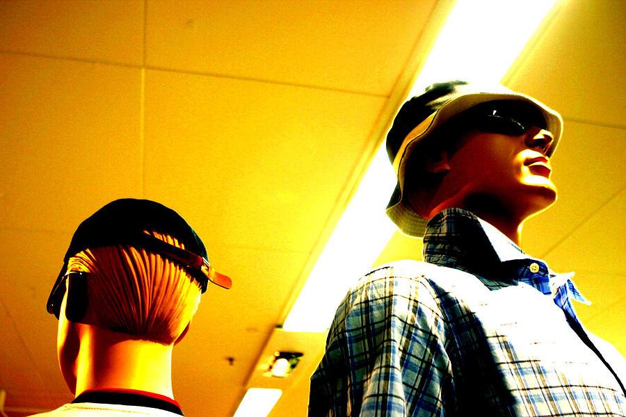 Photographer Photograph - Hat N Cap by Jez C Self