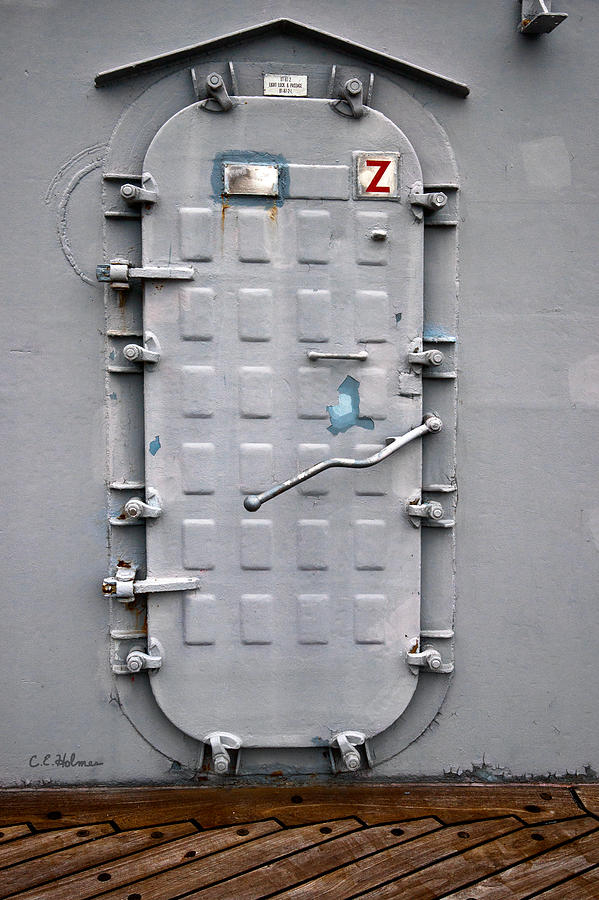 Ship Photograph - Hatch Secured by Christopher Holmes