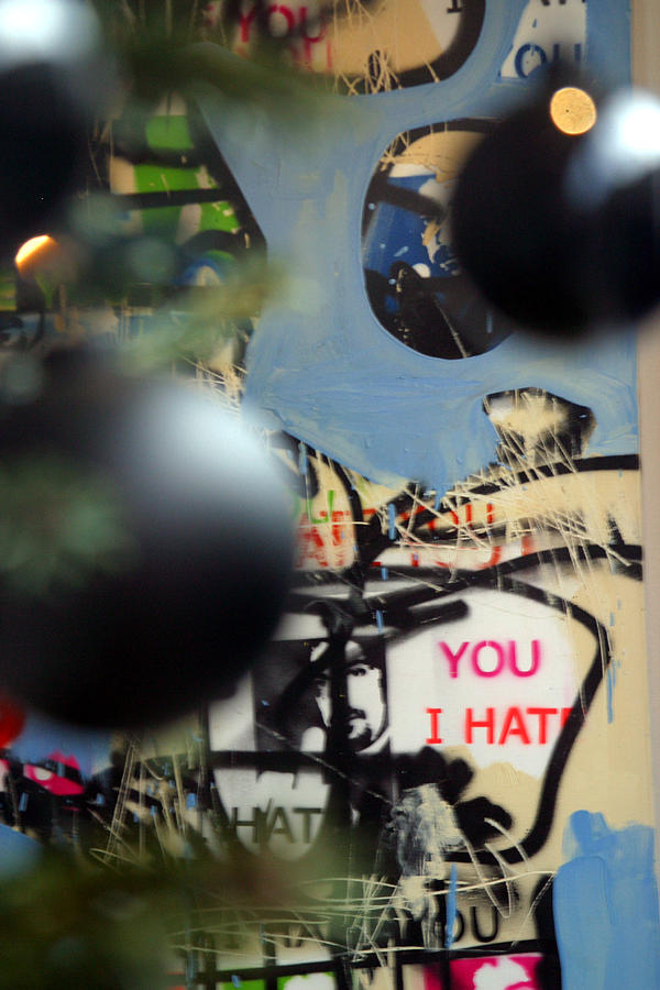 London Photograph - Hate You by Jez C Self