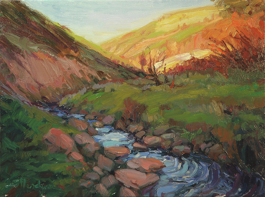 Country Painting - Hatley Gulch by Steve Henderson