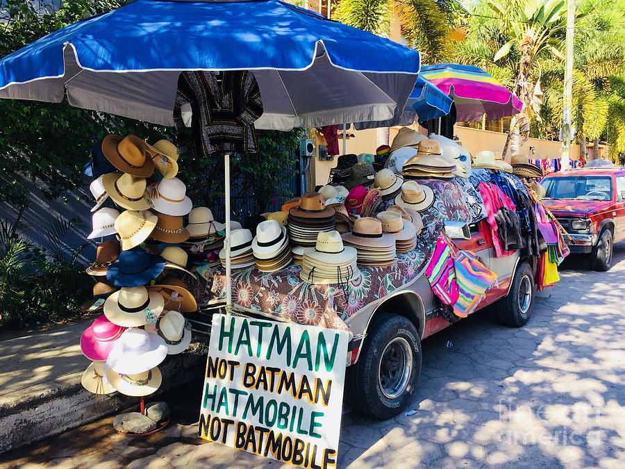 HATMAN NOT BATMAN by Bill Thomson