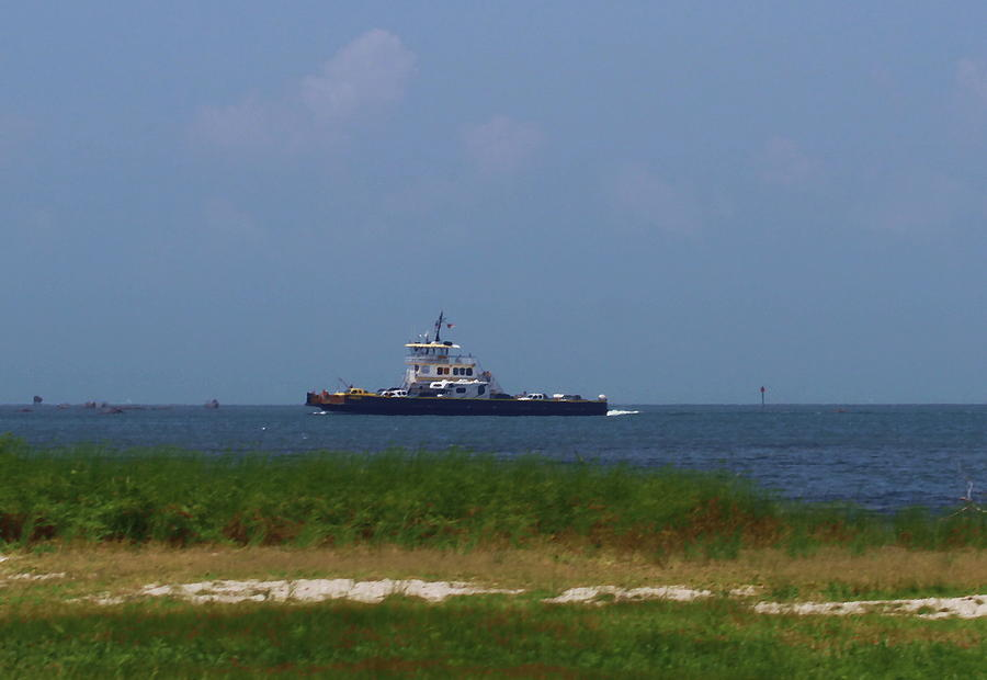 Hatteras Photograph - Hatteras Ferry To Ocracoke 2 by Cathy Lindsey
