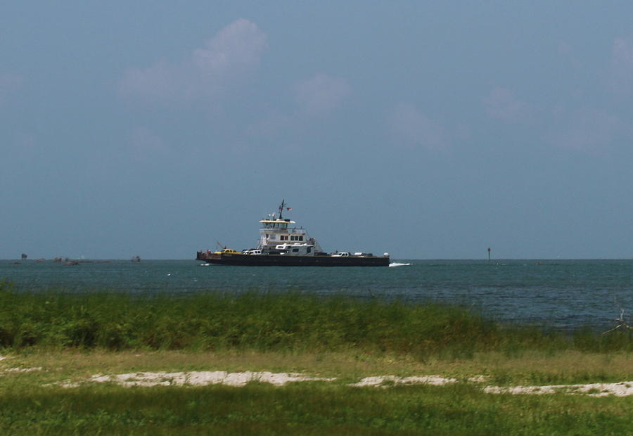 Hatteras Photograph - Hatteras Ferry To Ocracoke by Cathy Lindsey