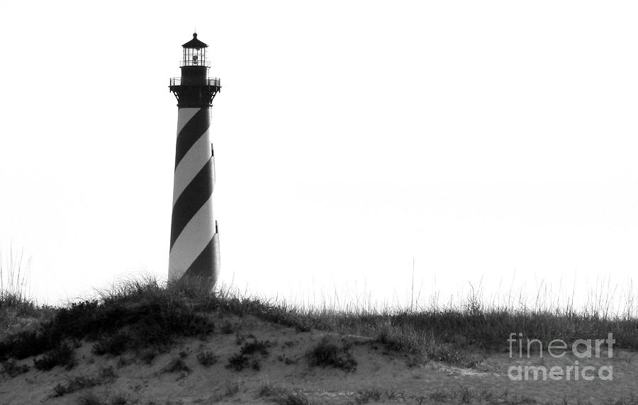 Hatteras Photograph - Hatteras Light  by Jean Wright