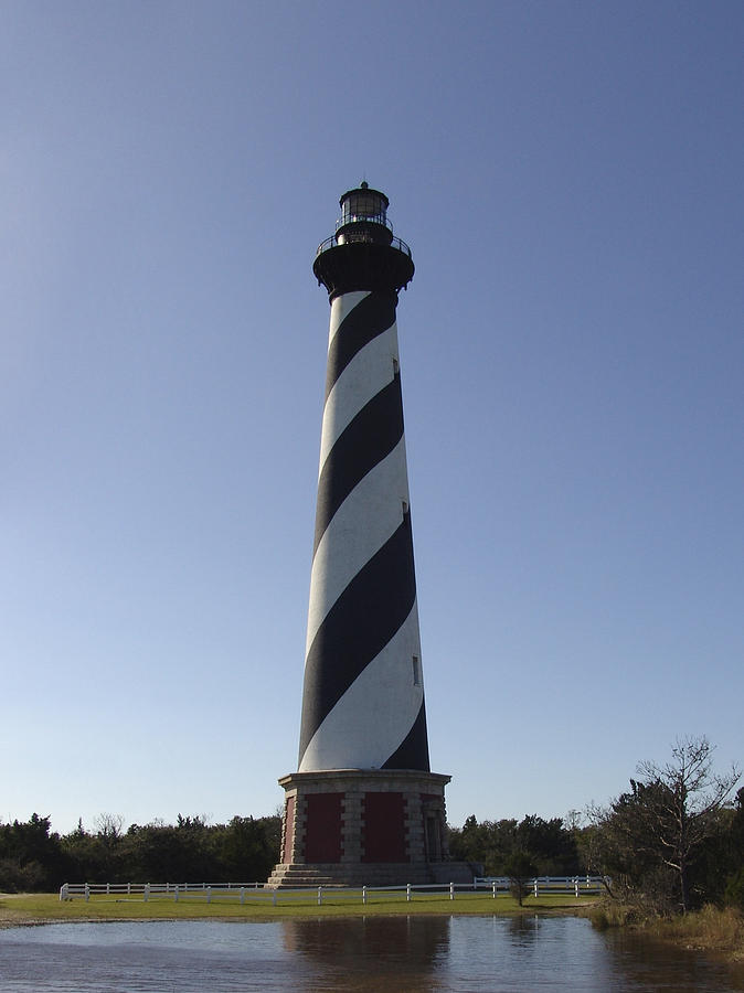 Hatteras Photograph - Hatteras Lighthouse by Tina B Hamilton