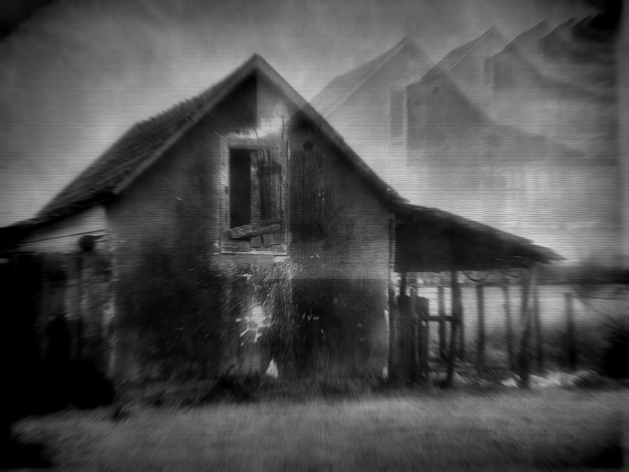 House Photograph - Haunted House by Mimulux patricia No