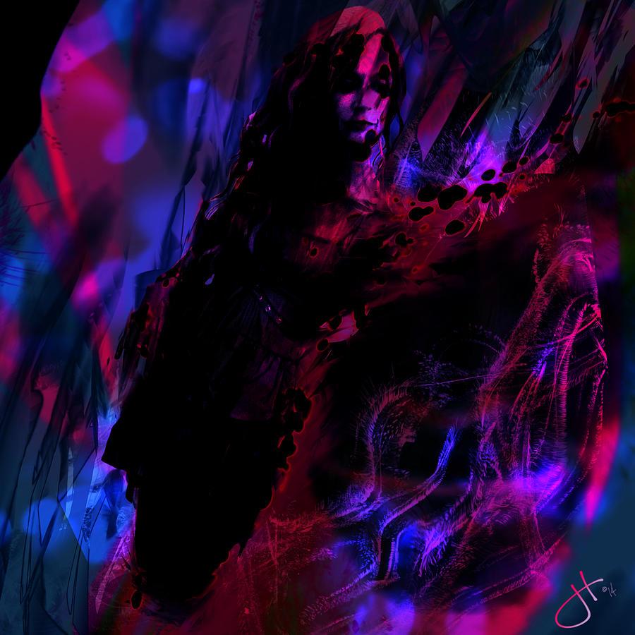 Haunted Digital Art - Haunted by Jason Hanson