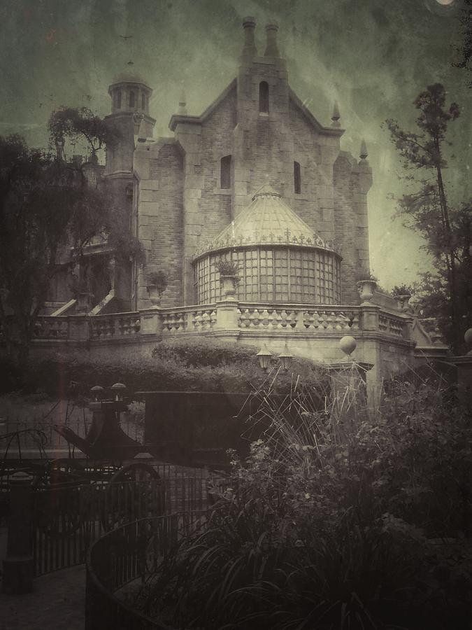 Haunted Mansion Photograph