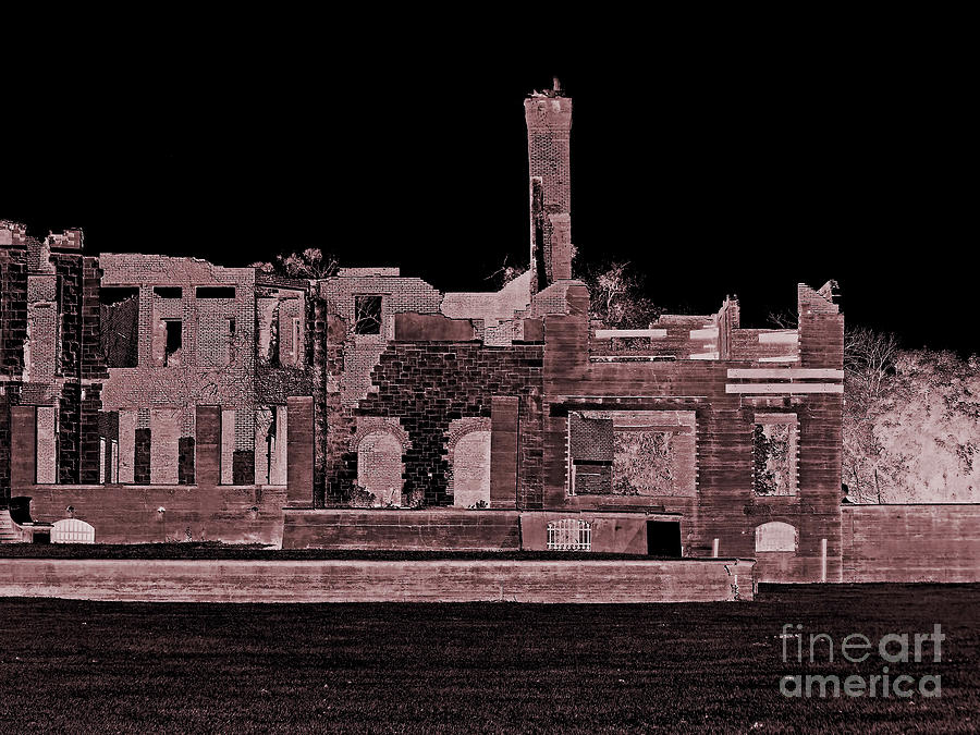 Haunted Ruins by D Hackett