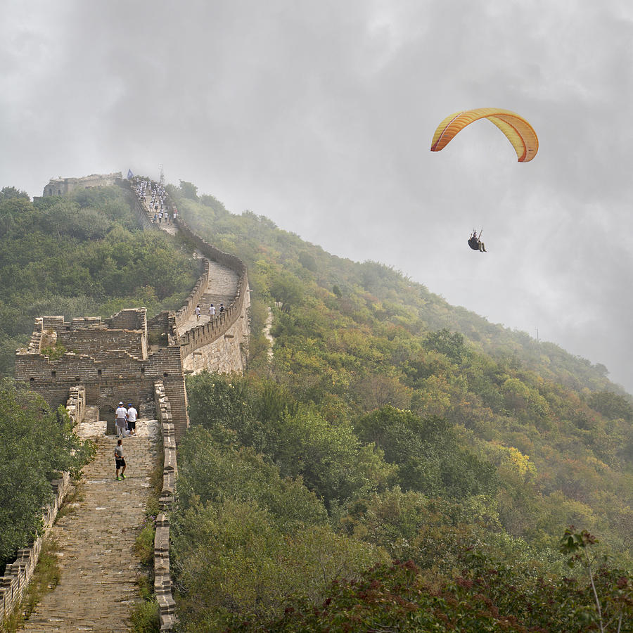 The Photograph - Haunting Great Wall by Betsy Knapp