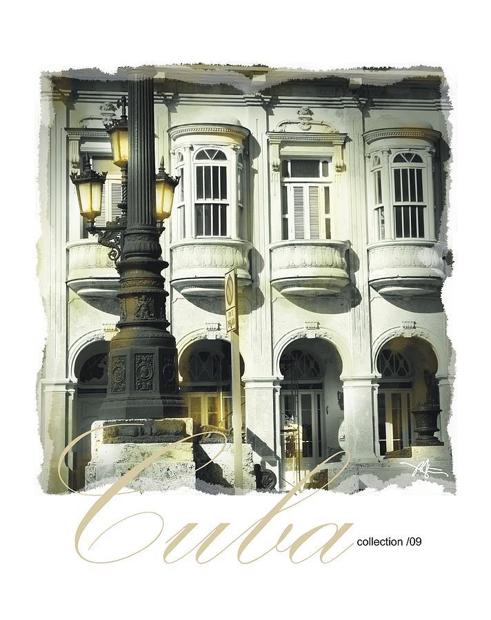 Havana Photograph - Havana Facade by Bob Salo