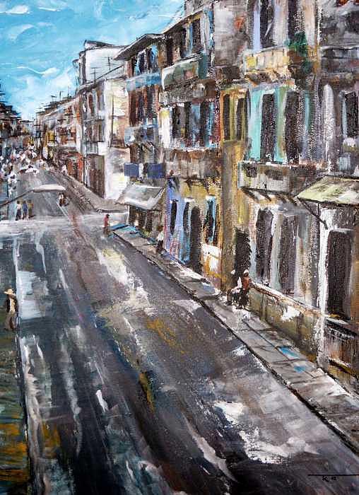 Cuba Painting - Havana by Travis Kelley