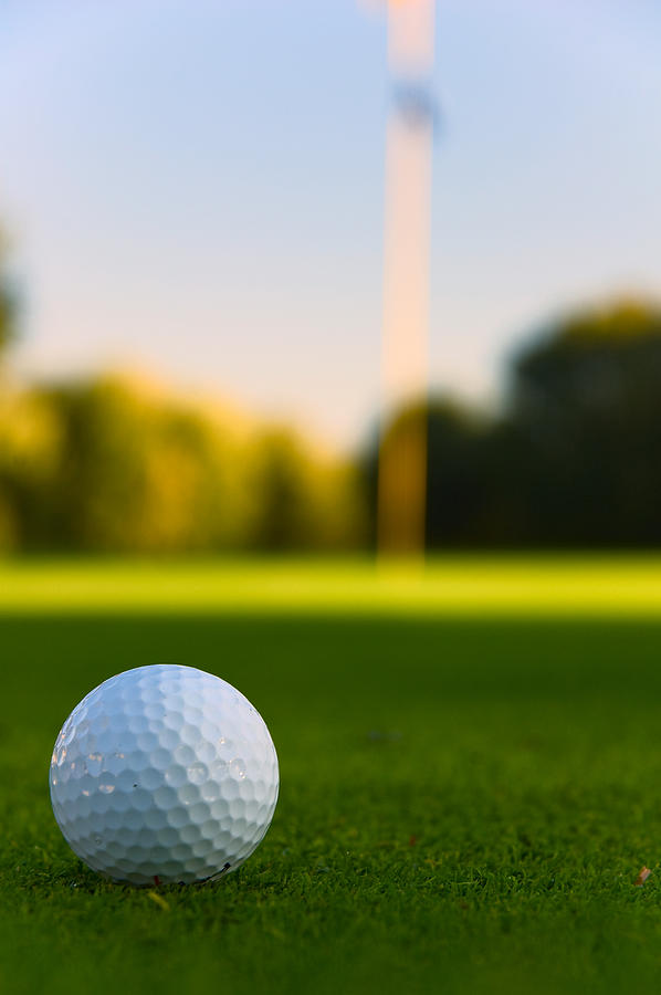 Golf Photograph - Have A Ball by Edwin Voorhees