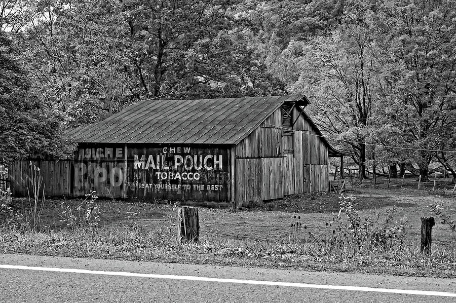 West Virginia Photograph - Have A Chaw Monochrome by Steve Harrington