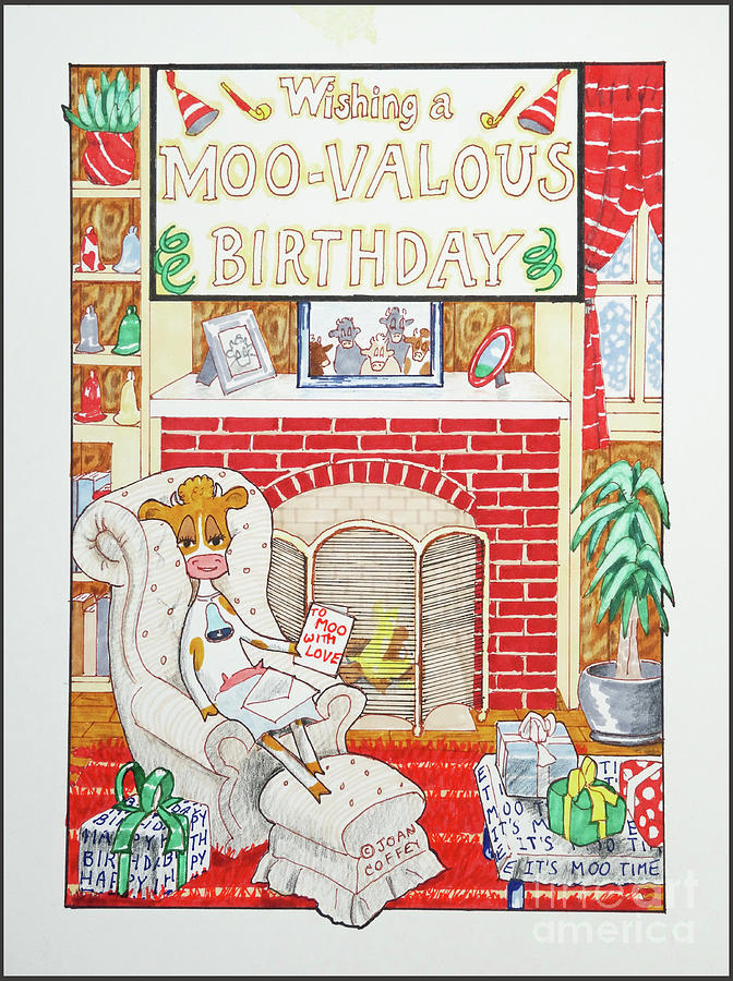 Have a Moovalous Birthday by Joan Coffey