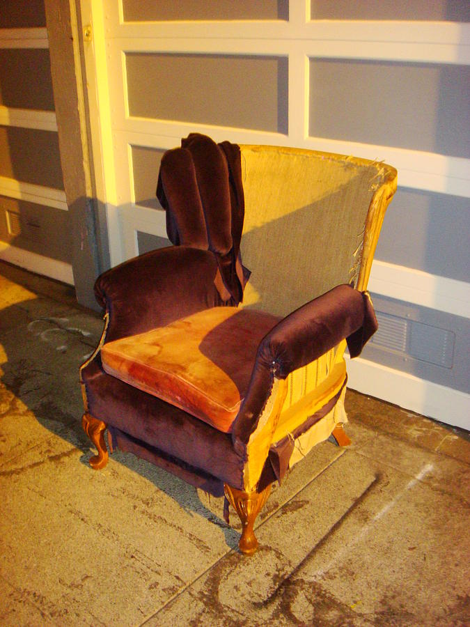 Chair Photograph - Have A Seat In Dore Alley by Mr Photojimsf