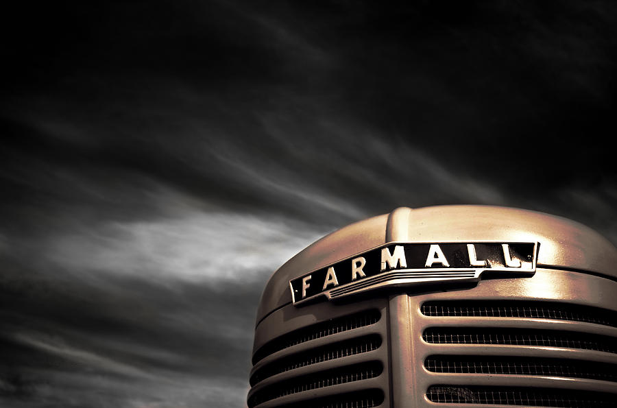 Farmall Photograph - Have No Fear - Farmall Is Here by Luke Moore