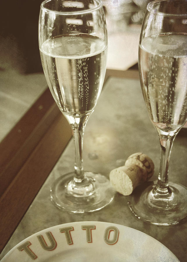 Champagne Photograph - Have No Regrets by JAMART Photography