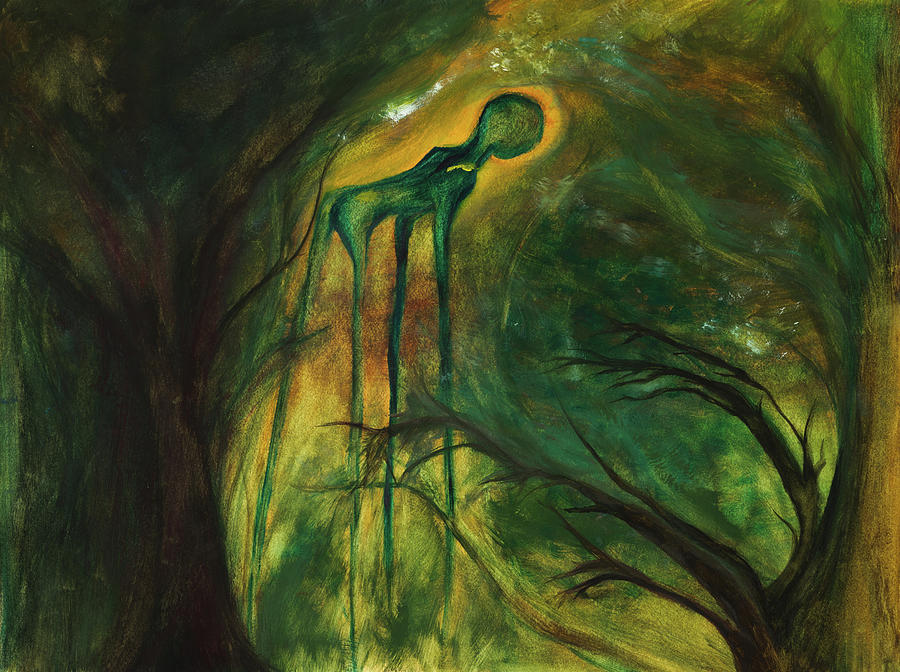 Surrealism Painting - Have You Seen My Dali? by Sarah Kate
