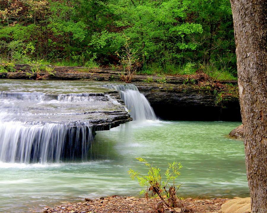 Waterfalls Photograph - Haw Creek Falls by Marty Koch