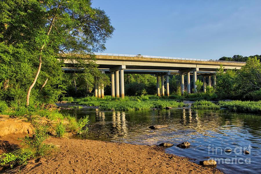 Bridge Photograph - Haw River Bridge by James Foshee