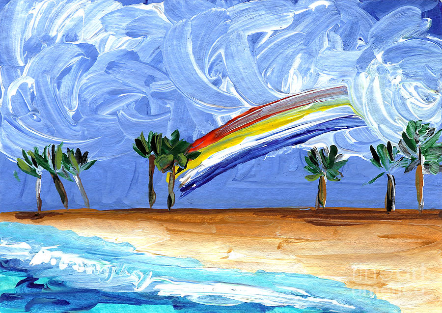Aceo Painting - Hawaii 25 by Helena M Langley