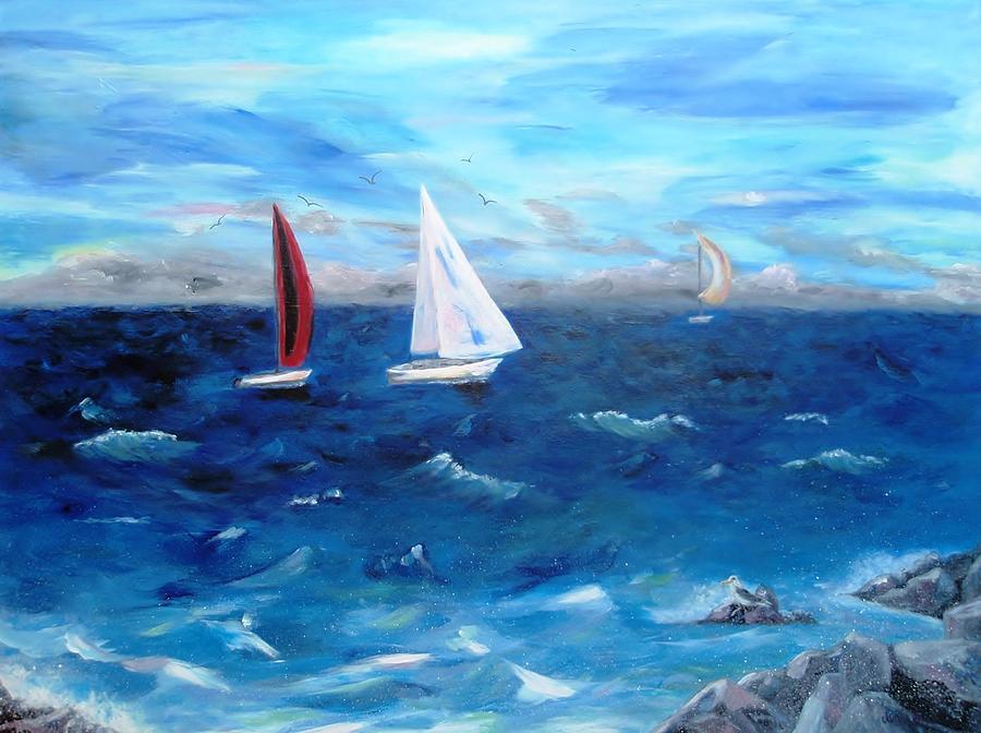 Hawaii Sail Painting