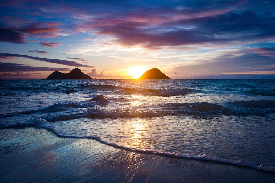 Family Photograph - Hawaii Sunrise by Robert Davis