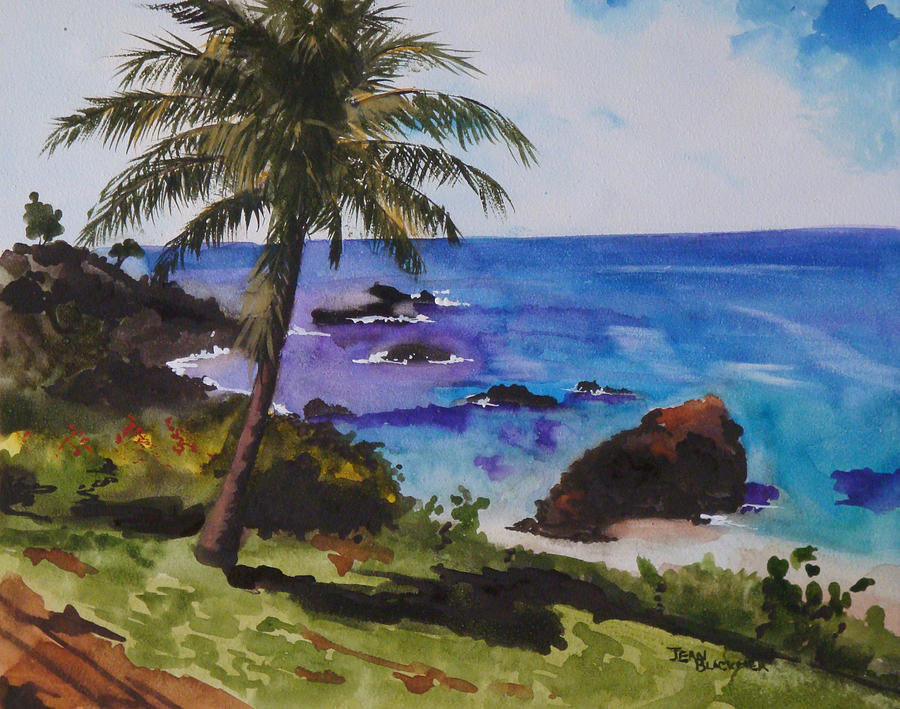 Hawaii Painting - Hawaiian Splendor by Jean Blackmer