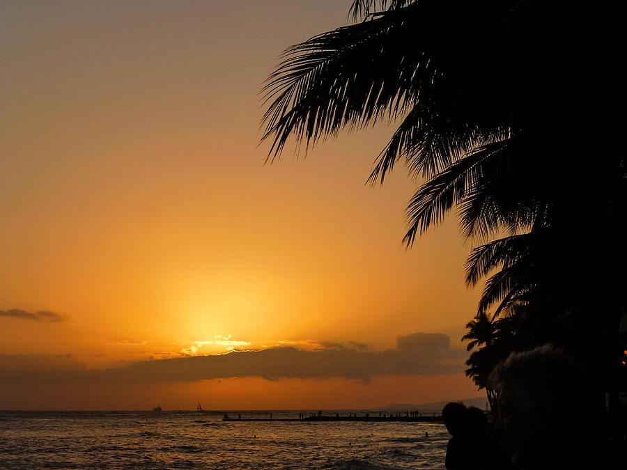 Hawaiian Sunset by MaryAnn Barry