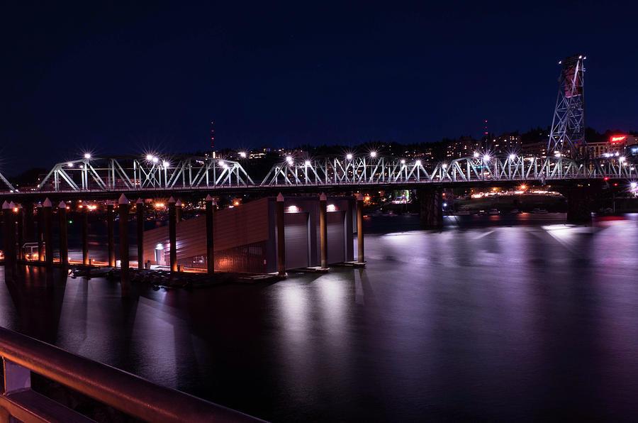 Hawthorne Bridge Photograph - Hawthorne Bridge by Teresa Herlinger