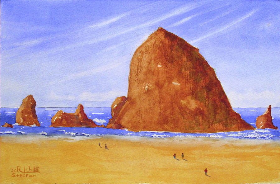 Hay Stack Rock by Rich Stedman
