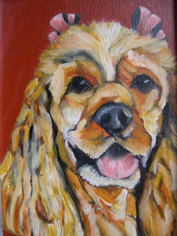 Pet Painting - Hazel by Tara Lewis