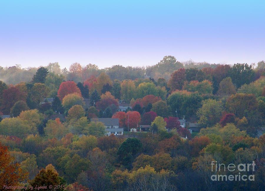 Hazy Autumn Photograph