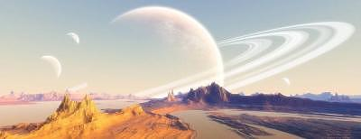 Planets Digital Art - Hazy Day On Annovia by Graham Conrad