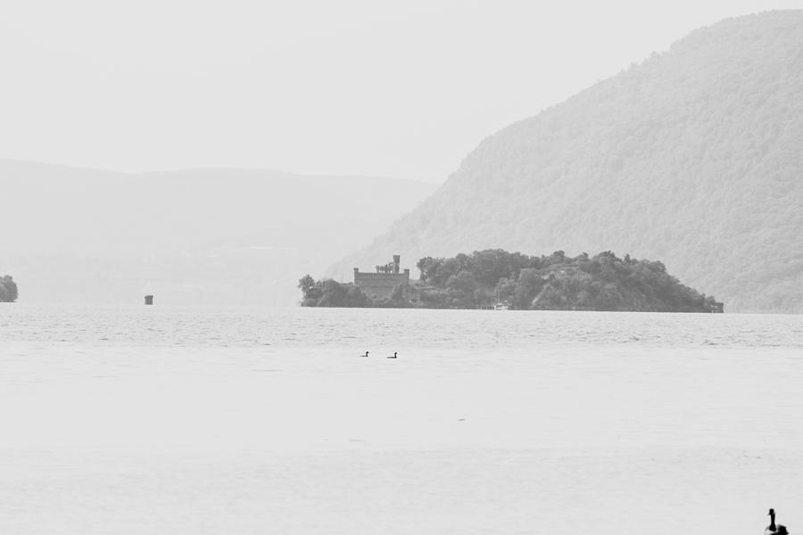 Bannerman Island Photograph - Hazy Hudson by Victory Designs