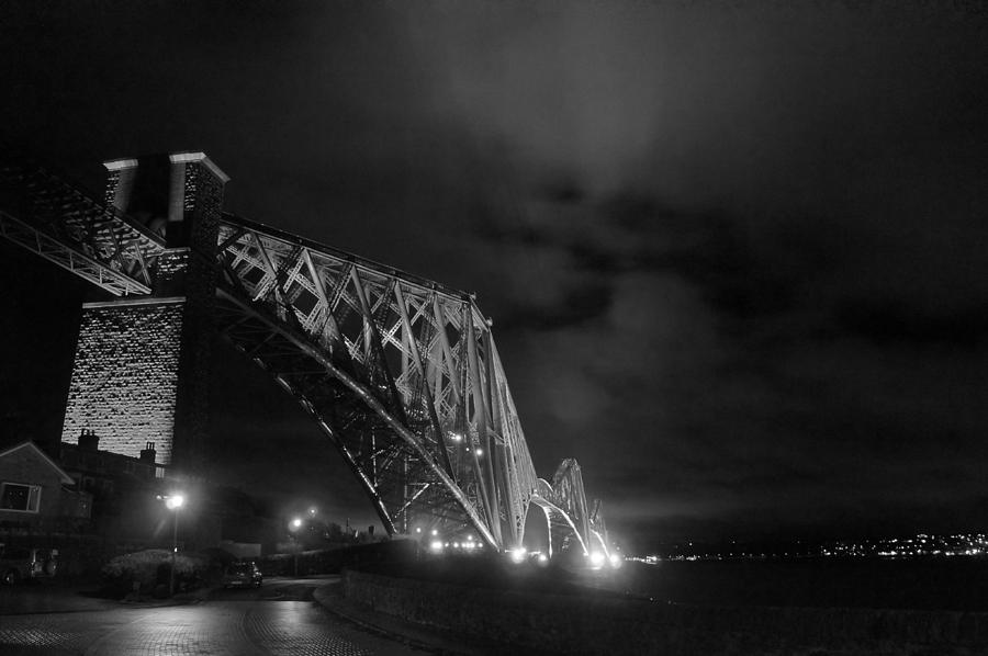 North Queensferry Photograph - Hazy Lights In The Night by Elena Perelman