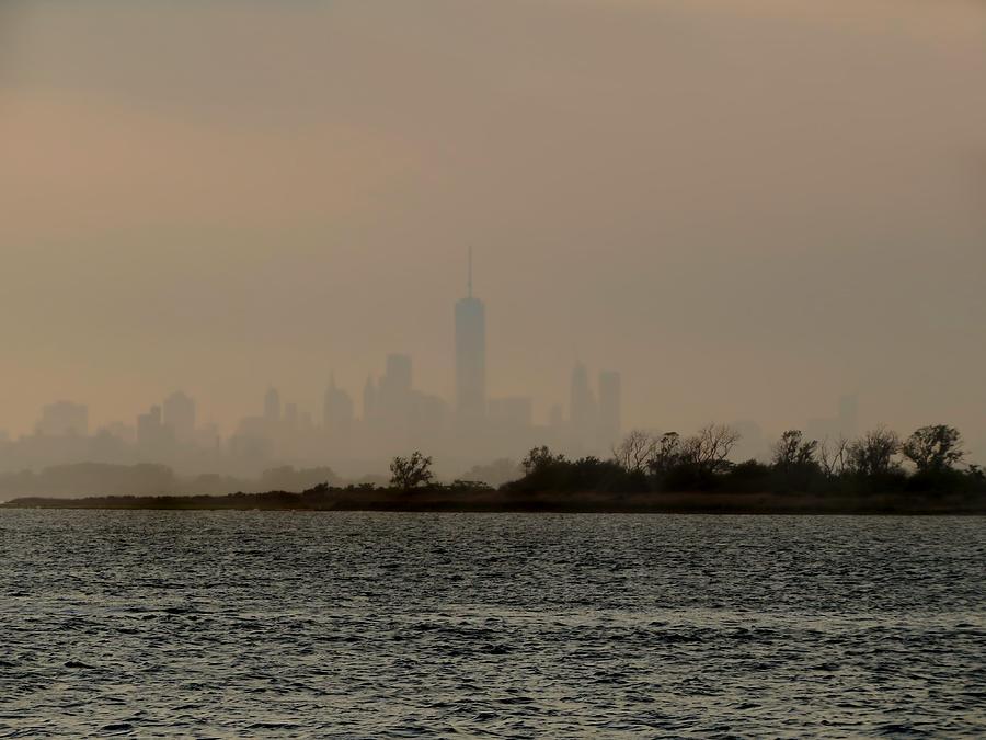 New York Photograph - Hazy New York by Jonathan Sabin